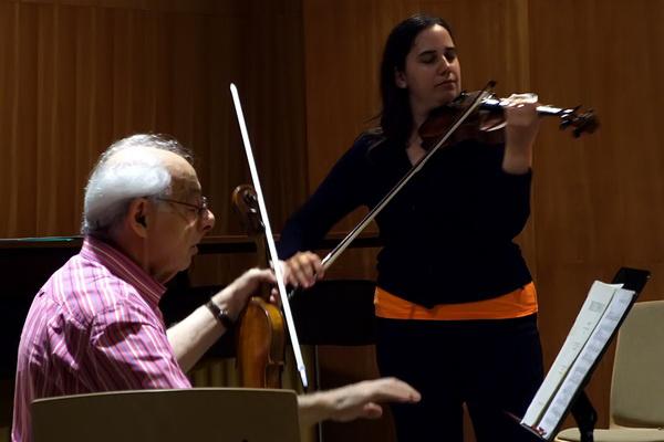 Pauk György és tanítványa - 28. Nemzetközi Bartók Fesztivál és Szeminárium