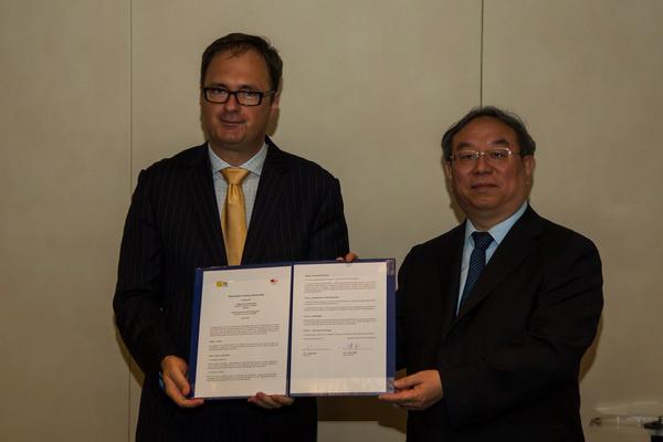 Káel Csaba és Csen Ping