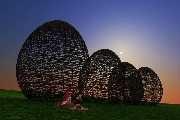 Hello Wood - látványtervek, Sziget Fesztivál 2012 (Pozsár Péter, Huszár András)