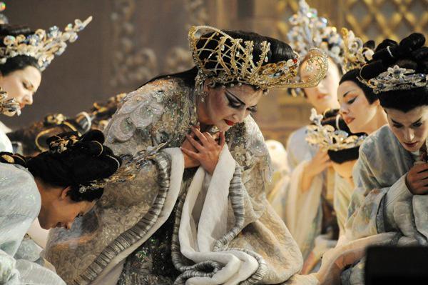 Lukács Gyöngyi Turandot szerebénem a barcelonai Liceuban