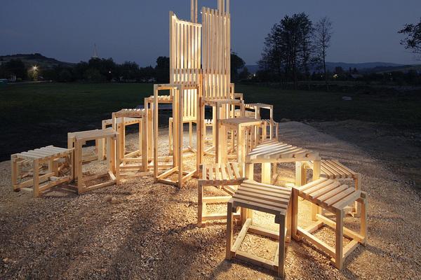 Hello Wood 2012 (tájépítész workshop) - fotó: Vargha Márk Péter
