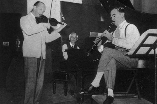 Szigeti József, Bartók Béla és Benny Goodman