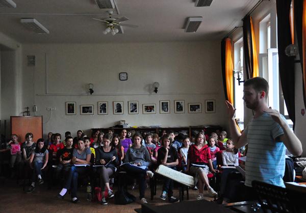Britten: Noé bárkája - énekes olvasópróba