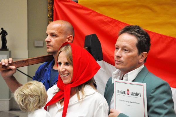 12. ARC díjátadó, 2012. szeptember 7. (Szépművészeti Múzeum) - Bakos Gábor, Molnár Hédi, Geszti Péter