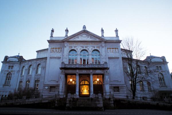a müncheni Theaterakademie August Everding épülete