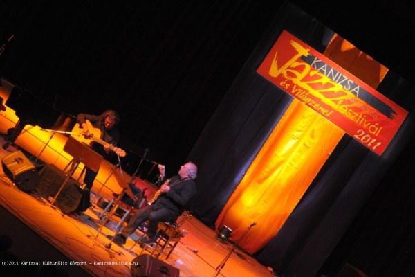 Snétberger Ferenc és Tony Lakatos a 2011-es Kanizsa Jazz és Világzenei Fesztiválon