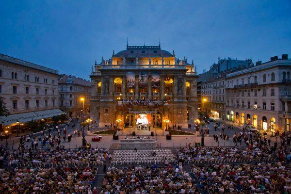 Évadnyitó az Operaházban 2012. szeptember 29-én