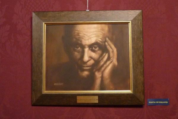 Kárpáti Éva Solti-portréja