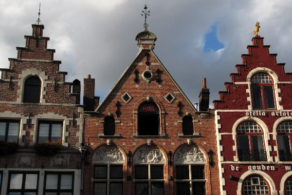Hangulatkép Brugge-ről