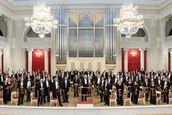 Jurij Tyemirkanov és a Szentpétervári Filharmonikus Zenekar