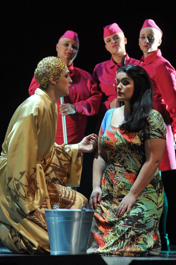 Verdi. Aida a Horvát Nemzeti Színházban, Kovalik Balázs rendezésében