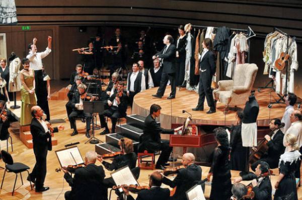Fischer Iván és a BFZ 2009-es Figaro-előadása a Müpában