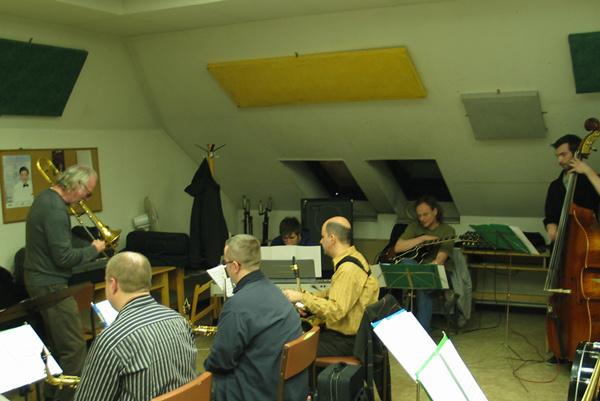 Ed Neumeister a Budapest Jazz Orchestrával