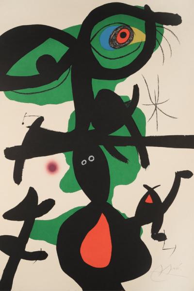 Oda a Joan Miró: IX.
