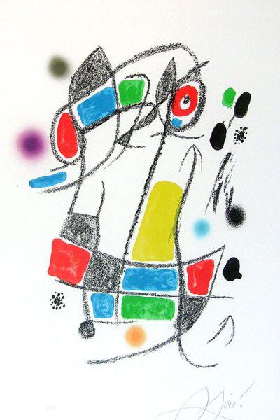 Joan Miró: Maravillas con Variaciones Acrósticas en El Jardín