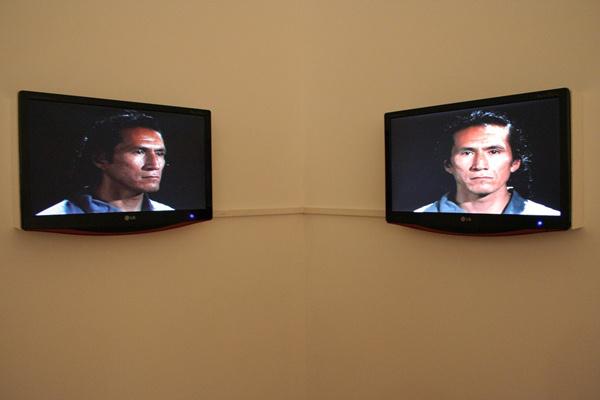 Gary Hill: Facing Faces (1996