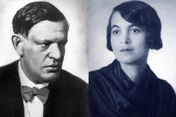 Karinthy Frigyes és Böhm Aranka