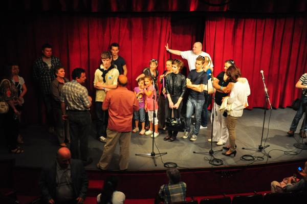 Színházak Éjszakája (Thália, Mikroszínpad, fotó:Frauenhoffer György)
