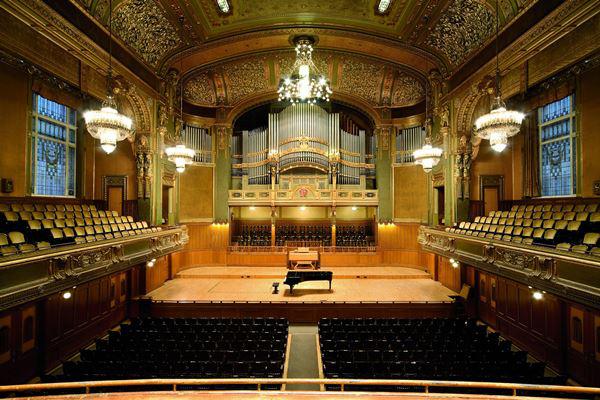 A Zeneakadémia nagyterme a felújítás előtt