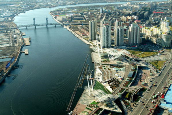 SimCity felülnézetben - az Operaház Kínában