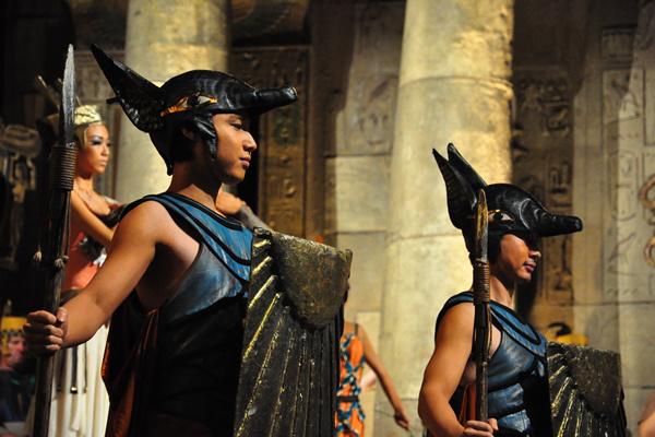 Aida Tianjinben - az Operaház Kínában