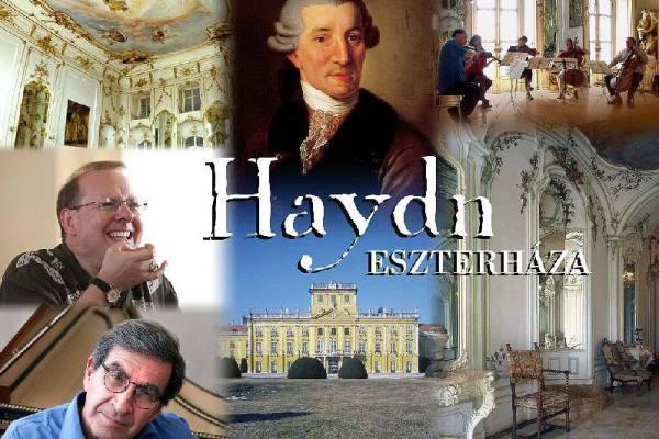 Haydn Eszterházán - fotómontázs