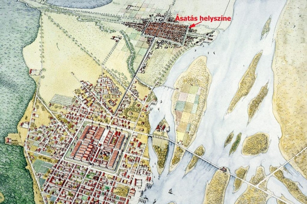 Térkép a területről