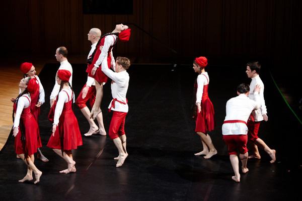 Sztravinszkij: Menyegző - Forte Társulat (Forrás: Zempléni Fesztivál)