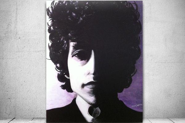 Bob Dylan popart