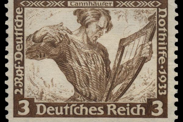 Tannhäuser, bélyeg 1933-ból