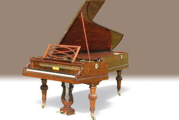 Pleyel-zongora 1842-ből