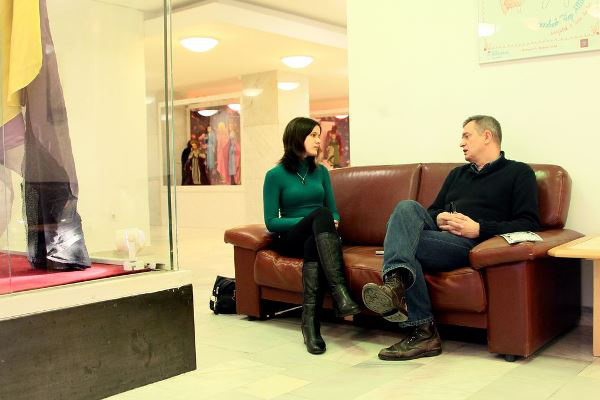 Csizmadia Tibor az interjún