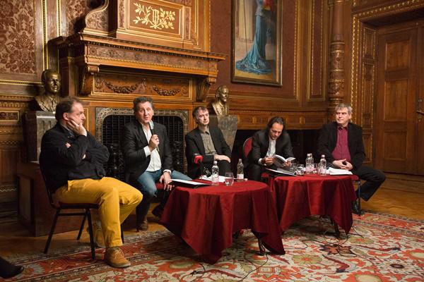 Dr. Győriványi Ráth György, Ókovács Szilveszter, Fekete Gyula, Bogányi Gergely és Király Tibor