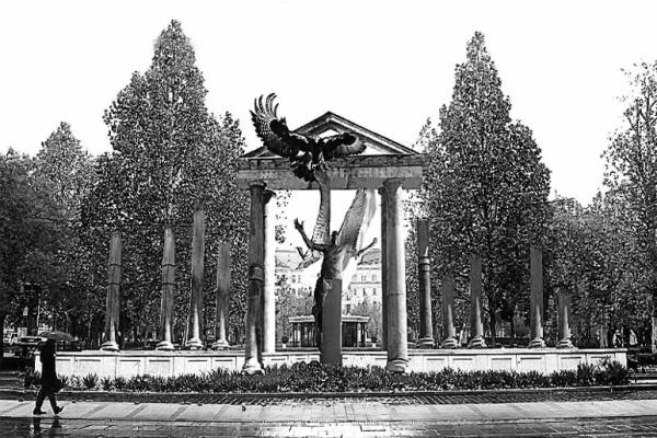 A Német megszállás-emlékmű terve