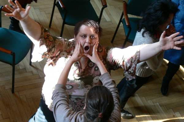drámapedagógiai foglalkozás (illusztráció)