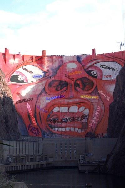 A Hoover-gát színesben