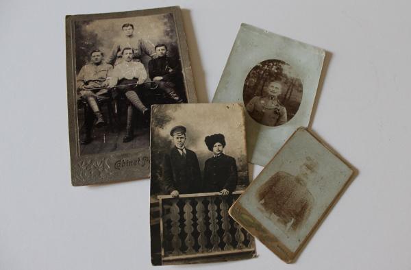 Fotók az első világháború idejéből