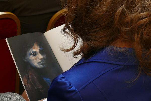 A Festők a tükörben c. kiállítás megnyitója a BTF keretében