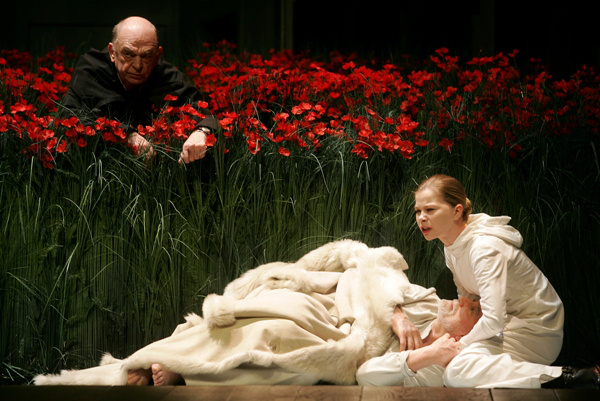 A Nemzeti Színház 2006/2007-es évada - Lear király - Bodrogi Gyula, Blaskó Péter, Vass Teréz