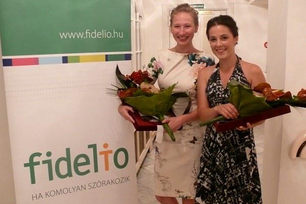 Tenki Réka és Lovas Rozi a 2013-as POSzT Fidelio-különdíjasai