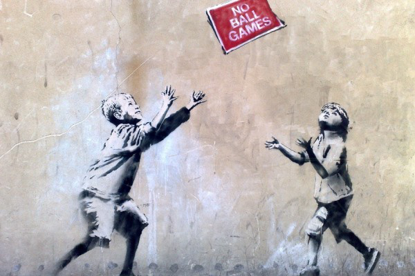 Banksy - No Ball Games