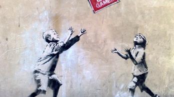 Banksy Rómában