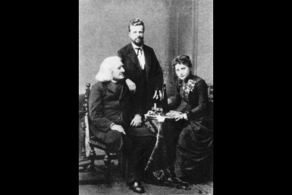 Liszt Ferenc, Táborszky Nándor és Lina Schmalhausen