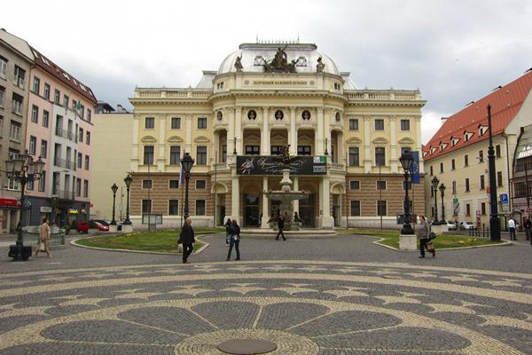 Régi Nemzeti Színház Pozsony