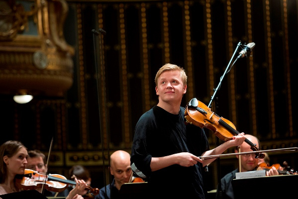 Pekka Kuusisto és a Mahler Chamber Orchestra