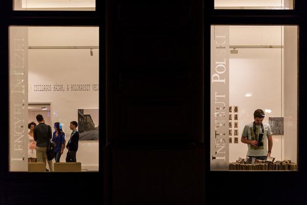 Múzeumok éjszakája 2014 - Lengyel Intézet kortárs művészeti kiállítás