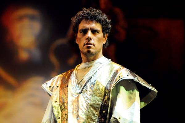 Thiago Arancam az Aida c. előadásban