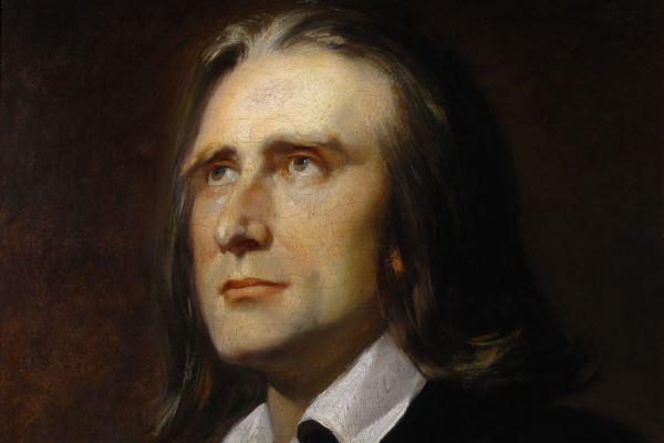 Liszt-portré (Kaulbach)