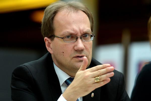 Hoppál Péter (MTI Fotó: Illyés Tibor)
