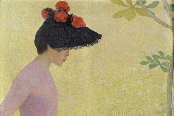 Aristide Maillol: Női profil, 1890